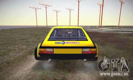 FSO Polonez 2500 Racing 1978 pour GTA San Andreas vue de côté
