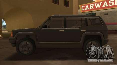 Landstalker HD from GTA 3 für GTA San Andreas linke Ansicht