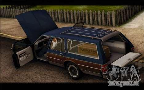 Chevrolet Caprice 1989 Station Wagon für GTA San Andreas rechten Ansicht