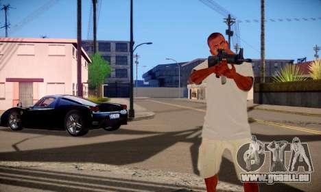 Franklin HD pour GTA San Andreas quatrième écran