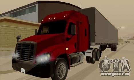 Freghtliner Cascadia pour GTA San Andreas
