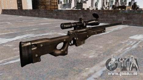 AI AWM-Scharfschützengewehr für GTA 4 Sekunden Bildschirm