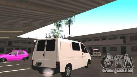 Renault Trafic für GTA San Andreas rechten Ansicht