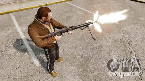 Usage général mitrailleuse MG42 pour GTA 4 quatrième écran