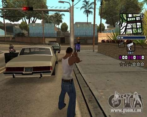 (C) HUD-von Gabbi_Stafford für GTA San Andreas dritten Screenshot