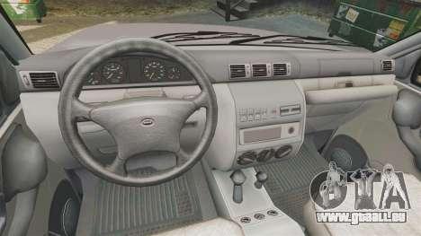 UAZ Patriot für GTA 4 Innenansicht