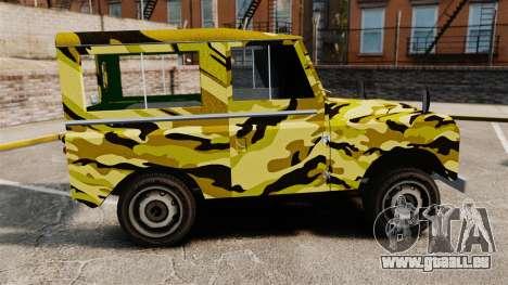 Land Rover Defender Antiguo für GTA 4 linke Ansicht