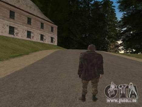 Viktor Reznov pour GTA San Andreas cinquième écran