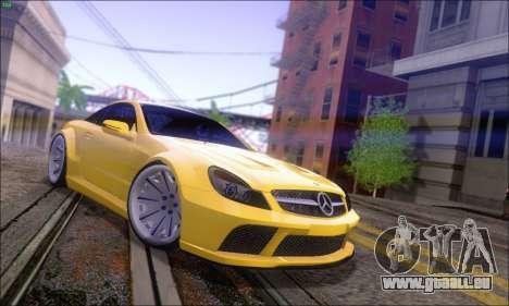Mercedes-Benz SL65 AMG GB pour GTA San Andreas laissé vue