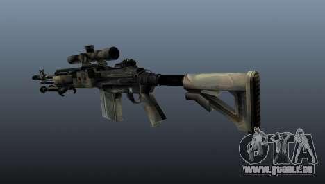 Fusil de sniper M21 Mk14 v4 pour GTA 4 secondes d'écran