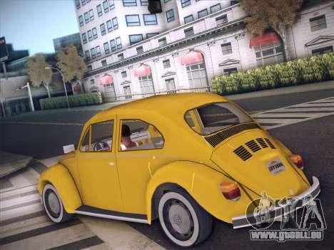 Volkswagen Käfer für GTA San Andreas rechten Ansicht