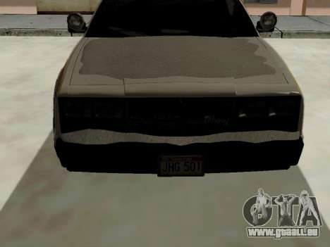 North Yanton Police Esperanto de GTA 5 pour GTA San Andreas vue de droite