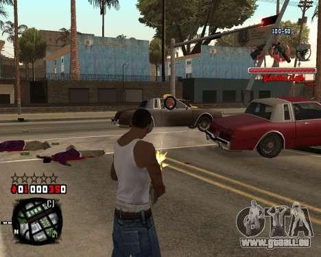 C-HUD Ghetto Live by Sanders für GTA San Andreas zweiten Screenshot