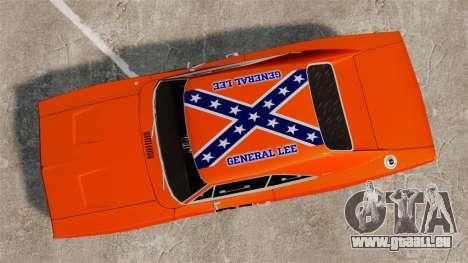 Dodge Charger 1969 General Lee v2.0 HD Vinyl pour GTA 4 est un droit