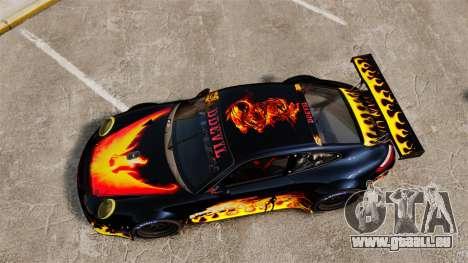 Porsche GT3 RSR 2008 Ddevil für GTA 4 rechte Ansicht