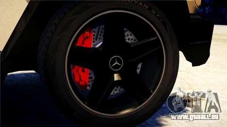 Mercedes-Benz G65 AMG 2013 pour GTA 4 Vue arrière de la gauche