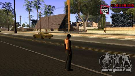 C-HUD Project Capture 6 für GTA San Andreas