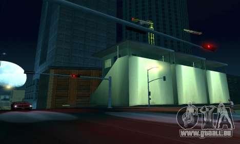 Il a achevé la construction de San Fierro V1 pour GTA San Andreas neuvième écran
