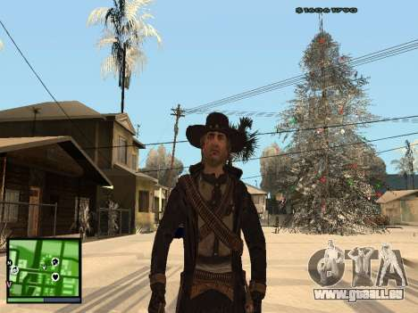 Ray Mccall de Call Of Juarez pour GTA San Andreas