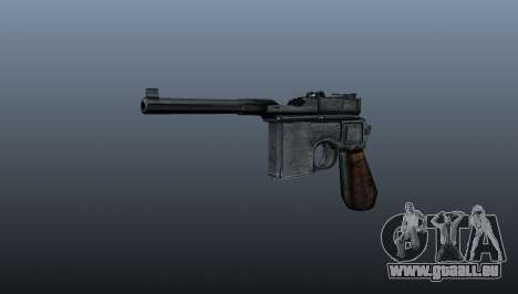 Mauser C96 pistolet Self-loading pour GTA 4