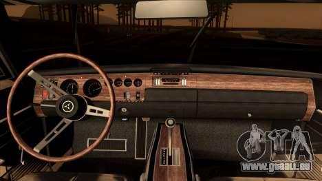 Dodge Charger 440 (XS29) 1970 pour GTA San Andreas vue de droite