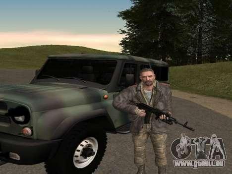 Viktor Reznov pour GTA San Andreas quatrième écran