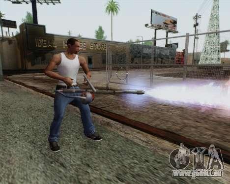 Nouveau lance-flammes pour GTA San Andreas