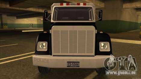 Enforcer HD from GTA 3 pour GTA San Andreas laissé vue