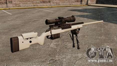 Scharfschützengewehr McMillan TAC-300 für GTA 4 Sekunden Bildschirm