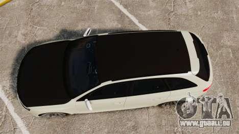 Audi RS4 Avant VVS-CV4 2013 pour GTA 4 est un droit