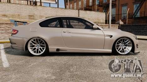 BMW M3 E92 GTS 2010 für GTA 4 linke Ansicht