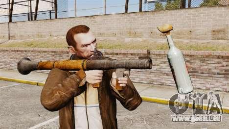 Lance-grenade antichar, Molotov pour GTA 4 secondes d'écran