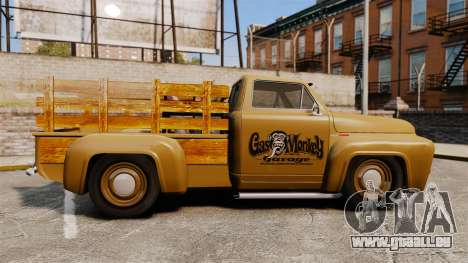 Hot Rod Truck Gas Monkey für GTA 4 linke Ansicht