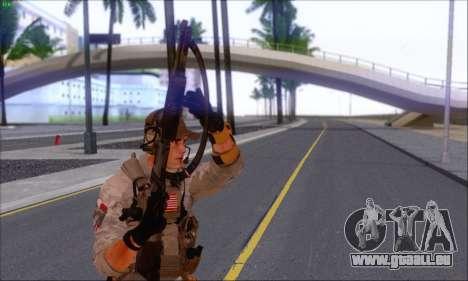Engineer of Battlefield 4 pour GTA San Andreas troisième écran