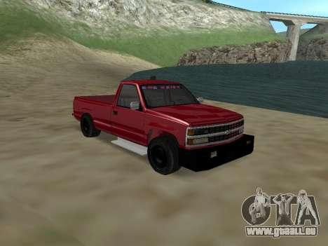 Chevrolet Silverado ATTF pour GTA San Andreas