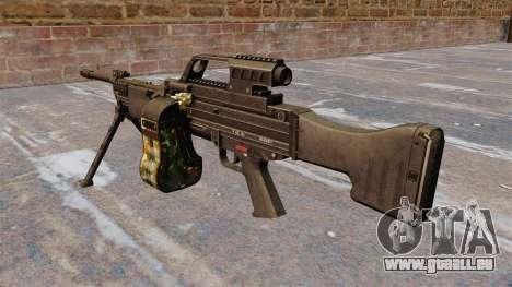 HK MG4 Maschinengewehr für GTA 4 Sekunden Bildschirm