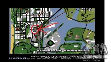 Er vollendete Bau in San Fierro V1 für GTA San Andreas zwölften Screenshot