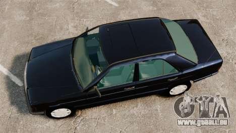 Mercedes-Benz E190 W201 für GTA 4 rechte Ansicht
