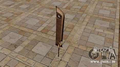 Schwert des Zabuzy für GTA 4