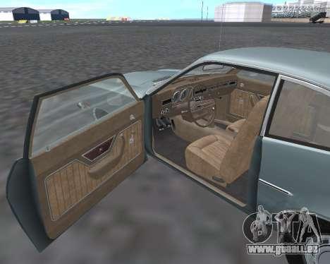 Ford Pinto 1973 für GTA San Andreas Innenansicht
