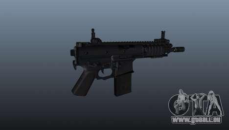 Shortstuff fusil KAC PDW pour GTA 4 troisième écran