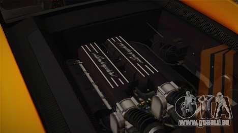 Lamborghini Gallardo Superleggera pour GTA San Andreas vue de dessous