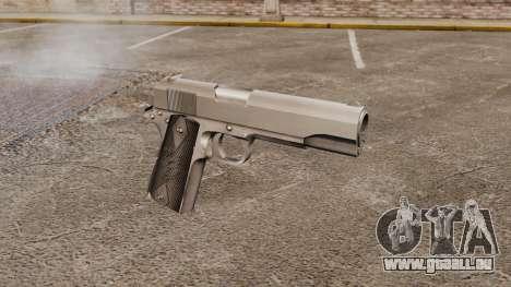 Colt M1911 Pistole v3 für GTA 4
