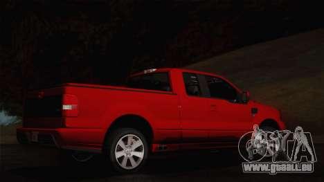 Saleen S331 Supercab 2008 für GTA San Andreas zurück linke Ansicht