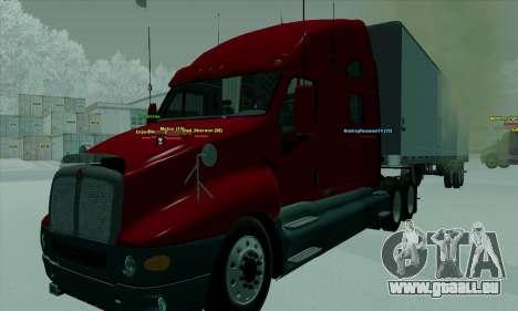 Kenworth T2000 v2.9 für GTA San Andreas rechten Ansicht