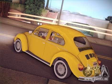 Volkswagen Käfer für GTA San Andreas Seitenansicht