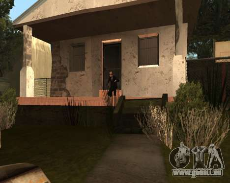 Home Guard CJ pour GTA San Andreas troisième écran