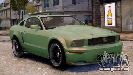 Shelby Terlingua Mustang pour GTA 4 est un côté