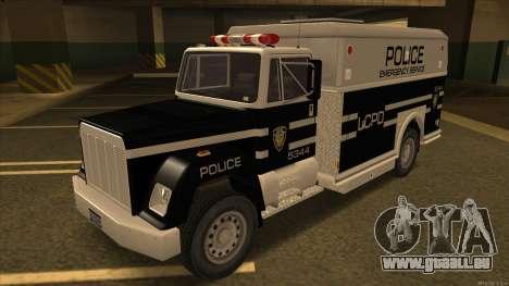 Enforcer HD from GTA 3 für GTA San Andreas