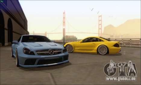 Mercedes-Benz SL65 AMG GB pour GTA San Andreas vue de droite